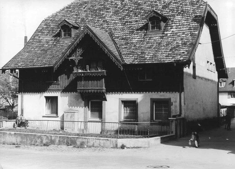 Erster Firmensitz in der Herrenstraße