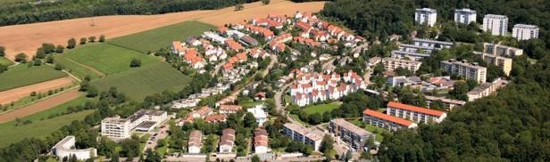 Luftaufnahme Wohnquartier Salzert
