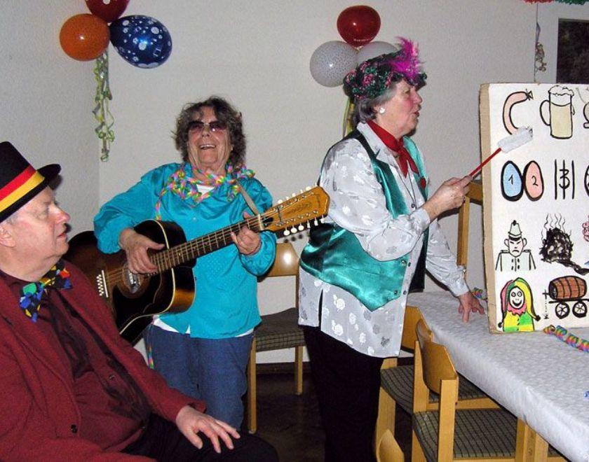Begegnungsnachmittage für Senioren