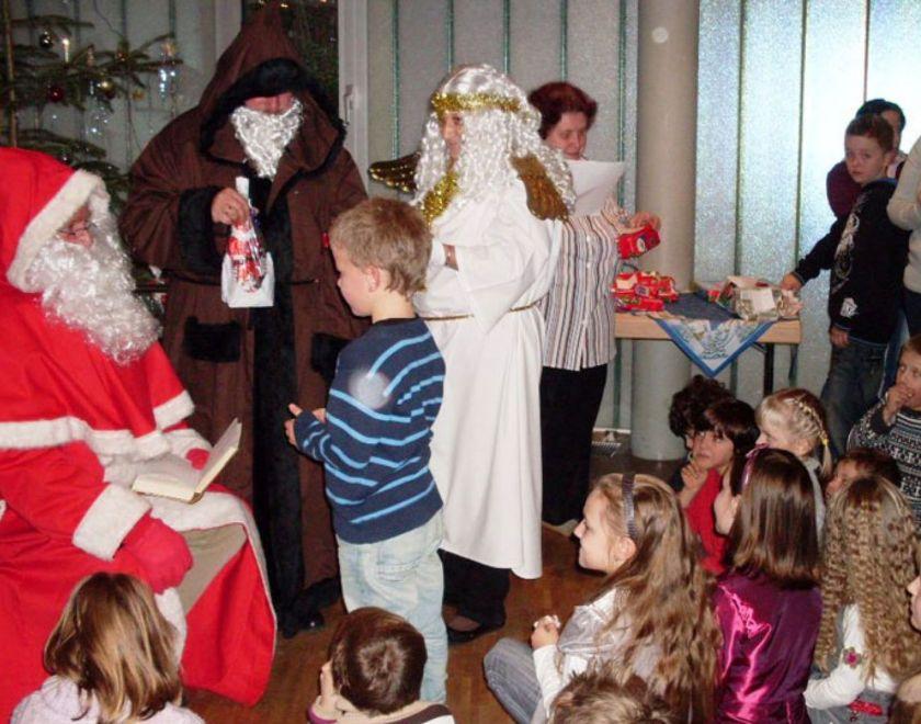 Nikolausfeier für Kinder