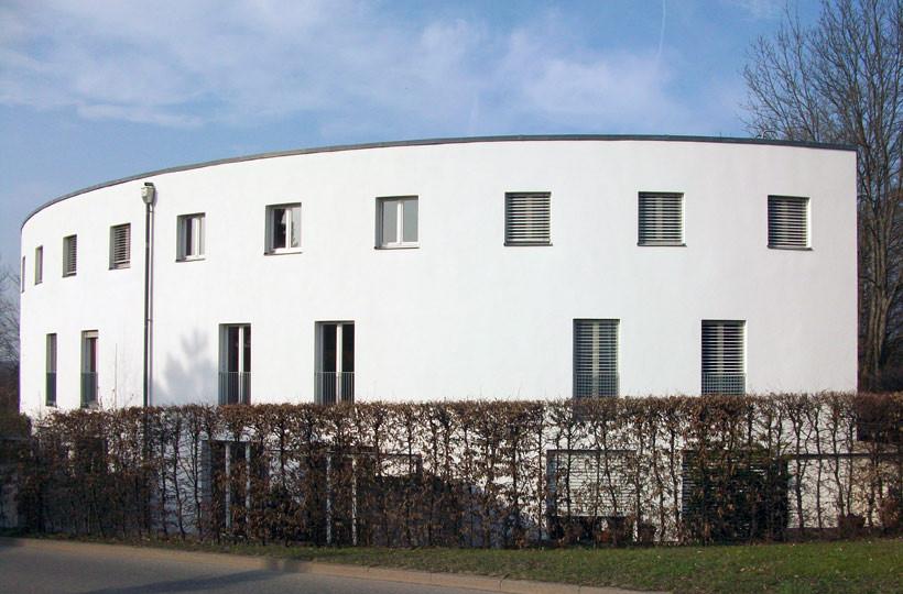 """Reihenhäuser """"Dreispitz"""" Außenansicht"""