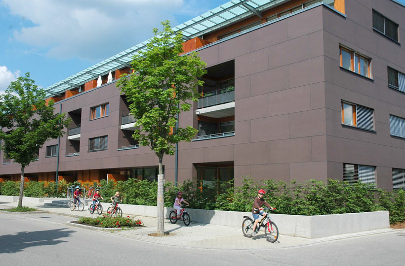 Pestalozzistrasse 37-39 Außenansicht
