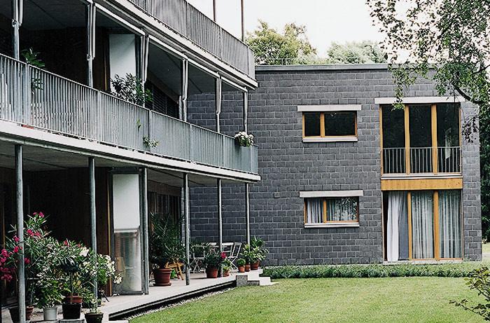 """""""Nansenpark"""" Gartenansicht"""