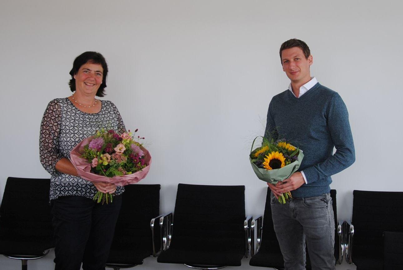 Frau Christen und Herr Gehrke