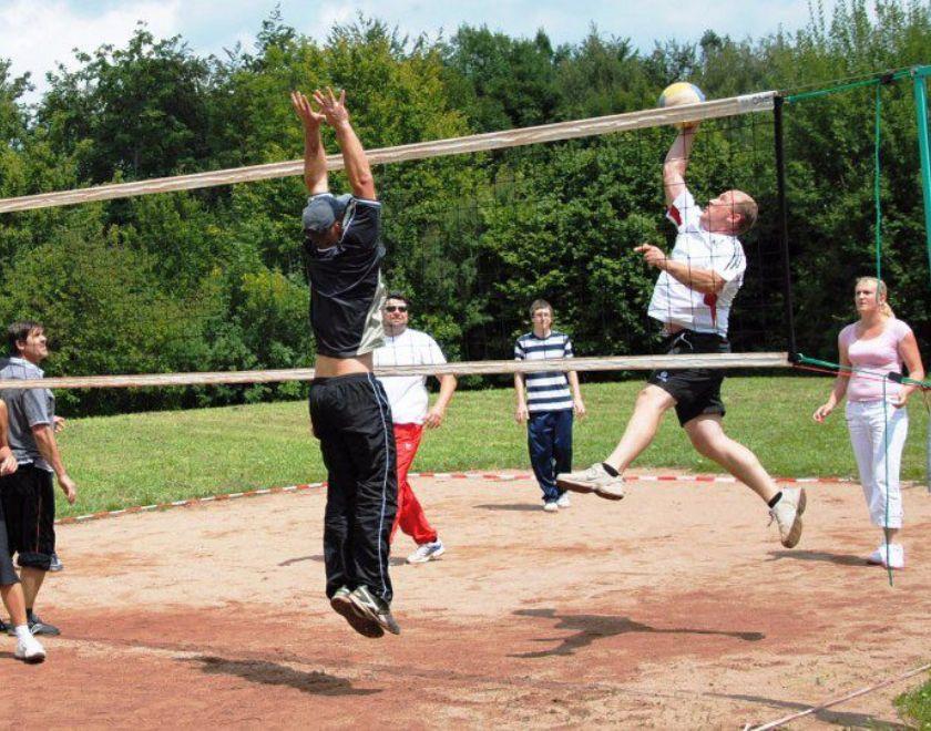 Volleyball-Turnier auf dem Salzert